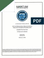 Marcum Advisory Group Report