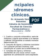Principales Síndromes Clínicos