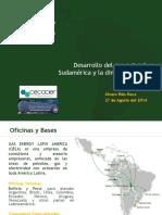 Desarrollo Del Gas Natural en Sudamérica