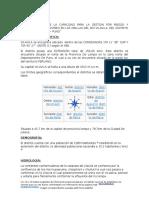 Datos Geograficos Estudio de Suelos Vilavila