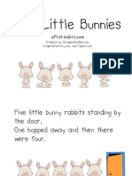 5 Little Bunnies