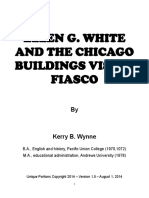 Ellen G. White and the Chicago Buildings Vision Fiasco