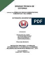 Informe Final Extension