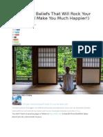 3 Buddhist Beliefs That Will Rock Your World