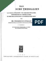 Stahlin - Das hellenische thessalien