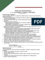 trezevant high school compact 2015-2016 1