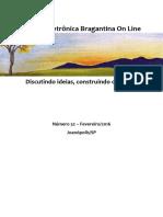 Revista Eletrônica Bragantina On Line - Fevereiro/2016