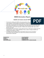 BSPS SEND Information Report