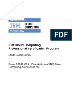 IBM Cloud computing Certification guide