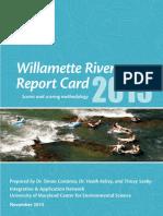 Willamette River Report Card