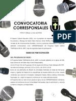 Convocatoria Parroquia en El Aire 2016 - Ruben Alejo Conde