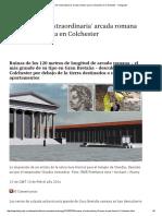 Arcada Romana  en Colchester