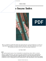 Norm North - The Insync Index