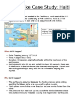 Haiti Earthquake Case Study