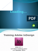 Adobe Indesign-Menu 1