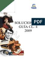 Solucionario CL 4 - 2009