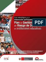 Guia Plan de Gestion de Riesgo 2015