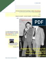 Oblicza galicyjskiej biedy BOLEK i LOLEK ANEKS Kaczynskiego do zmowy w Magdalence 20160217 Magazyn Europejski SOWA