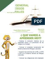 SISTEMA GENERAL DE RIESGOS LABORALESneral de Riesgos Laborales