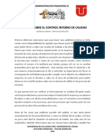 Analisis Auditoria Interna _CIPA_JULIFA - Administracion Financiera IX