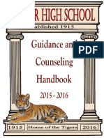 15 - 16 counseling handbook