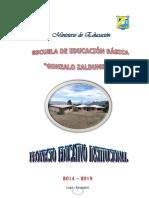 Proyecto Educativo Institucional 2014(2)