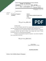 Surat Akreditasi