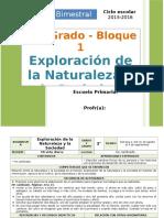 Plan 2do Grado - Bloque 1 Exploración de la Naturaleza.doc