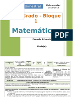 Plan 2do Grado - Bloque 1 Matemáticas.doc