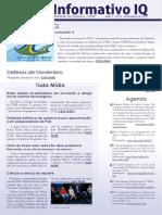 Informativo IQ - Novembro de 2012