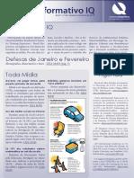 Informativo IQ - Janeiro e Fevereiro 2013