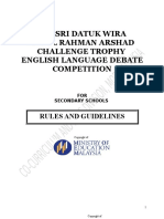 New English Debate Concept 2016