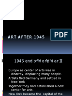 Arts IV Art After 1945