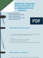 Movimientos de Oposición Ante El Neoliberalimo en México COMPLETO Cch
