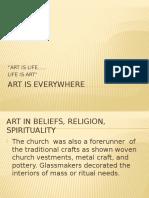 ART IV-spiritual, Politics