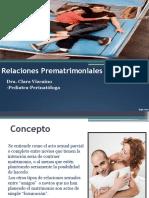 Relaciones Prematrimoniales