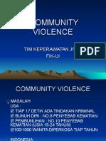 Community Violence