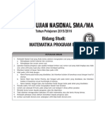 Mn584_try Out Simulasi Un Sma Matematika Ipa