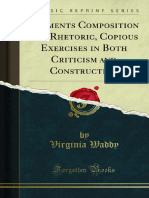 Elements Composition and Rhetoric Copious Exercises in Both 1000187727