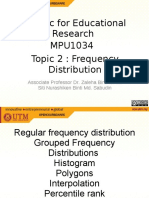 Chap 2 Frequency Distribution