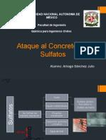 Exposición. Concreto Sulfatos PRESENTACIÓN