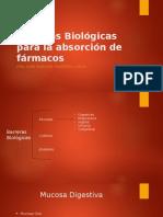 Absorcion Transmembranas