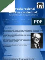 Terapia Racional Emotiva Conductual- Expo LaboVIII