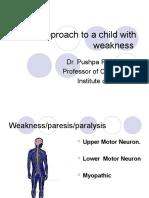 Acute Flaccid Paraplegia