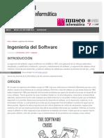 Antecedentes ingenieria de software