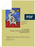 Tensión Entre Constitucionalismo y Democracia Mejía Kintana