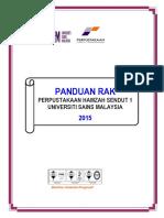 Panduan Rak Phs Mac 2015