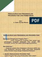 Pengukuran Dan Pengendalian Progress Fisik Dan Pembayaran