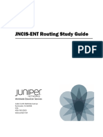 JNCIS-EnT Routing Study Guide