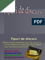 Tipuri de Discurs